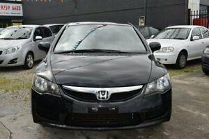 2010 Honda Civic Black Sedan Dandenong Greater Dandenong Preview