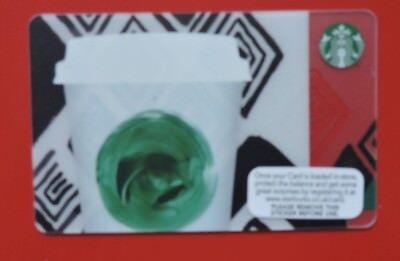 STARBUCKS UK TRIBUTE GIFT CARD 2014 NO VALUE COLLECTORS ITEM