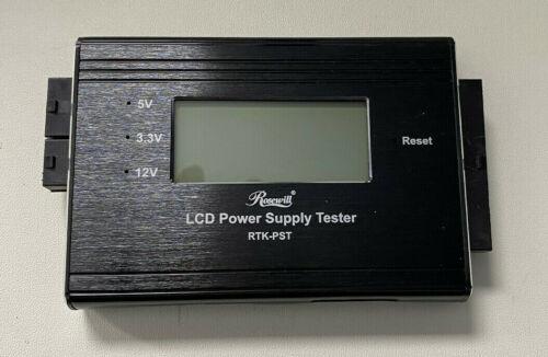 Rosewill RTK-PST - Digital LCD Power Supply Tester - original packaging