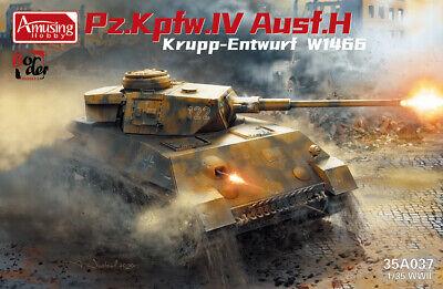 Panzer IV Ausf.H Krupp Entwurf W1466 Amusing Hobby 1:35