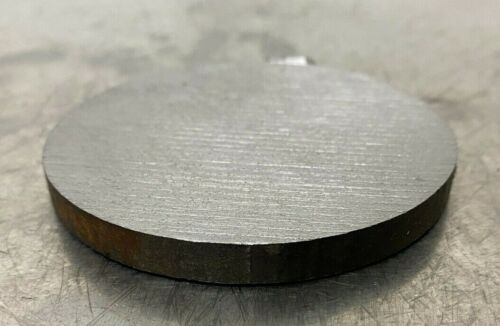 """1/4"""" thick 1045 Steel Plate,Steel Disc Shaped, 2-3/4"""" Diameter, Round, Circle"""