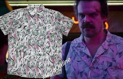 2019 STRANGER Things 3 Jim HOPPER Hawaiian Shirt Date Night Halloween