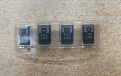 4x Smd Panasonic Tantalum Capacitor 330uf 2.5v - Replace Nectokin 0e907 0e128
