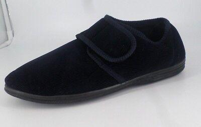 Chums Men's Velvet Black Slipper's Size UK 11 EU 45 NH085 TT 10