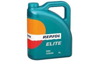 REPSOL RP ELITE 20501 TDI SAE 5W40 Aceite de Motor 5 Litros...