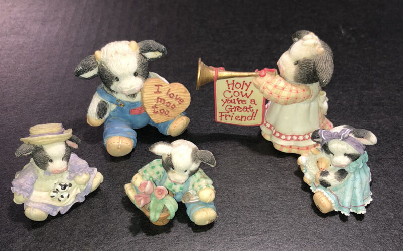 Mary's Moo Moos Lot Of 5 - 1990's/2000 - All In Great Condition - Nice!!