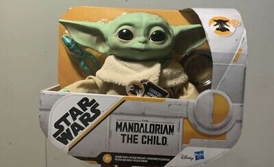 DISNEY STAR WARS THE MANDALORIAN THE CHILD BABY YODA TALKING PLUSH DOLL TOY NEW!