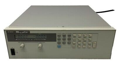 Agilent 6653a System Dc Power Supply 0-5vdc 0-15a