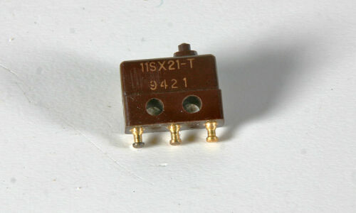 Honeywell MicroSwitch    11SX21-T   5 Pieces