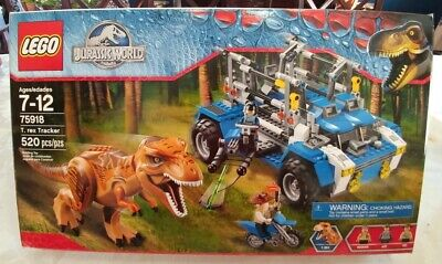 LEGO Jurassic World T. Rex Tracker 75918 - 520 pcs - complete