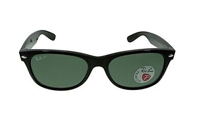 New Authentic Ray Ban Wayfarer Classic Polarized Sunglasses RB2132 901/58