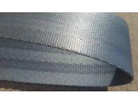 "New 2/"" SUNFLOWER 5 Bar Seat Belt Webbing 150 Ft Roll 54.5 Yards"