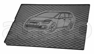 ab 2013 EXKLUSIV Kofferraumwanne Kofferraummatte CITROEN C4 Grand Picasso Bj