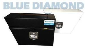Black & White Steel Tool Box for Under Carriage Left &Right Combo Kewdale Belmont Area Preview