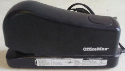 Office Max Heavy Duty Electric Stapler 97436 Black