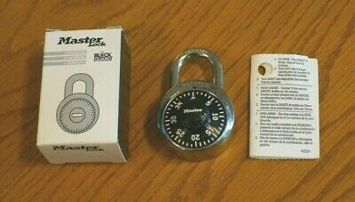 School Gym Locker Master Combination Lock Padlock Block Guard