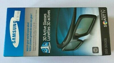 NEW IN BOX Samsung SSG-3050GB 3D Active Glasses Battery Powered Smart TV