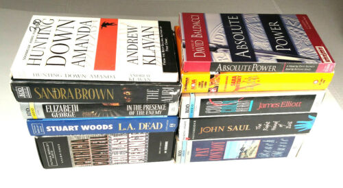 LOT OF 10 AUDIOBOOKS ON CASSETTE [EXCELLENT CONDITION] Mystery, Romance [LOT 3]