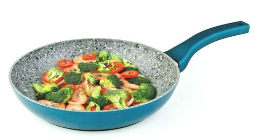Non Stick Fry Pan With Induction Bottom With 3-Layer Granite Coating, Gray