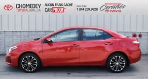 2016 Toyota Corolla S, CUIR, TOIT OUVRANT, AUTOMATIQUE