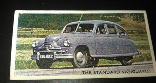 1952 STANDARD VANGUARD Saloon Orig Trading Card RSPOA UK