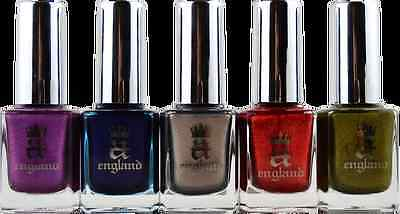 A England Elizabeth & Mary Collection Assorted Color Nail Polishes (England Collection)