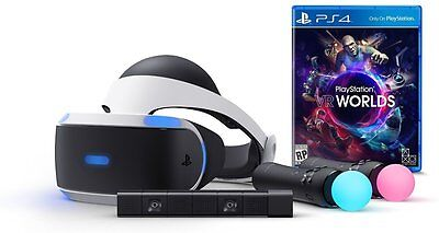 PlayStation VR Launch Bundle (PS4) - VR Headset + Camera + 2x Controllers *NEW*