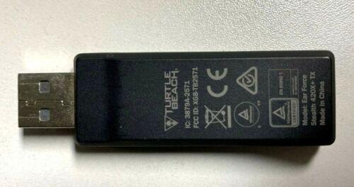 Genuine Turtle Beach Ear Force Stealth 420X+ TX USB Dongle Transmitter - VG