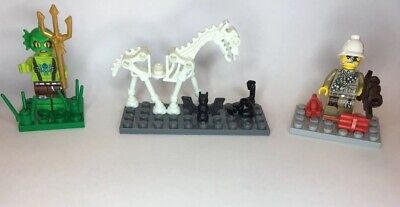 👻 LEGO Monster Fighters Minifigures Lot w/ Horse & Accessories 9467 9468 9464