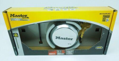 Master Lock Steel Shackle Keyed Padlock Magnum M736XKAD Max Security
