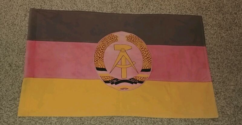 ⭐ Vintage original East German Flag ⭐ DDR ⭐ GDR ⭐ German Democratic Republic ⭐
