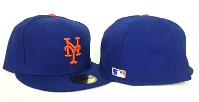 New Era Royal New York Mets Official On-field Vintage Gray Bottom Fitted Hat  (New York Mets)