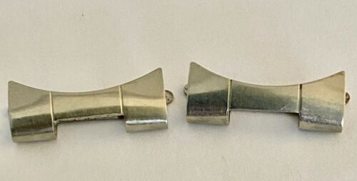Rolex Genuine end piece (2) Oyster 20mm 558  Stainless Steel