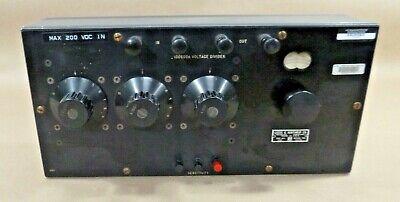Vintage Leeds Northrup 4395 Decade Resistor 100000 Ohms Input Resistance
