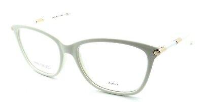 44f80f8acac Jimmy Choo Rx Eyeglasses Frames JC 133 SAL 53-16-135 White Made in