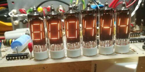 NUMITRON   DA1310   QTY = six  , in  Geiger Muller scintillation counter