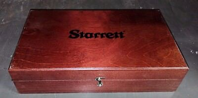 Starrett 947 Wood Case For 250 Series Dial Height Gage In Stock
