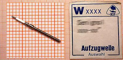 eine AUFZUGWELLE für AU- und Taschenuhr: AUSWAHL aus 1000 W-Nummern AUFZUGWELLEN