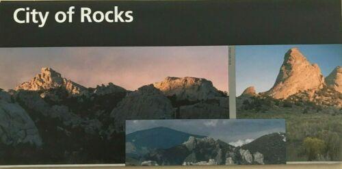 New CITY of ROCKS RESERVE - Idaho  NATIONAL PARK SERVICE UNIGRID BROCHURE Map
