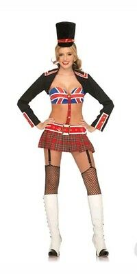 New leg avenue british queens guard costume sz. - British Guard Halloween Costume