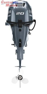 "YAMAHA F20SEA OUTBOARD MOTOR 15"" SHAFT ELECTRIC START 3 YEAR WARRANTY"