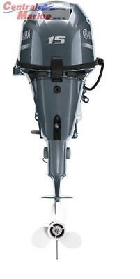 "YAMAHA F15LEHA OUTBOARD MOTOR 20"" SHAFT ELECTRIC START 3 YEAR WARRANTY"