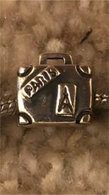 Pandora genuine suitcase holiday travel charm