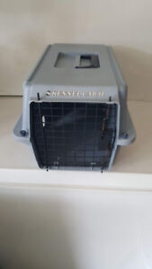 Pet transport crate for small pet.