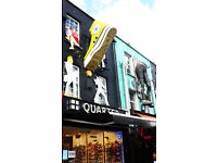 FULL TIME PERMANANT SALE PERSON SHOE FASHION SHOP CAMDEN TOWN