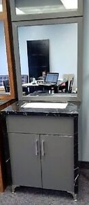 (Brand New) Bathroom Vanity with Marble Counter-top and Sides- G Cambridge Kitchener Area image 4