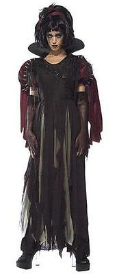 Women's Unhappily Ever After Snow Fright Gothic Horror Snow White Adult Costume - Gothic Snow White Costume