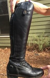 Leather riding Tredstep Donatello field  boots
