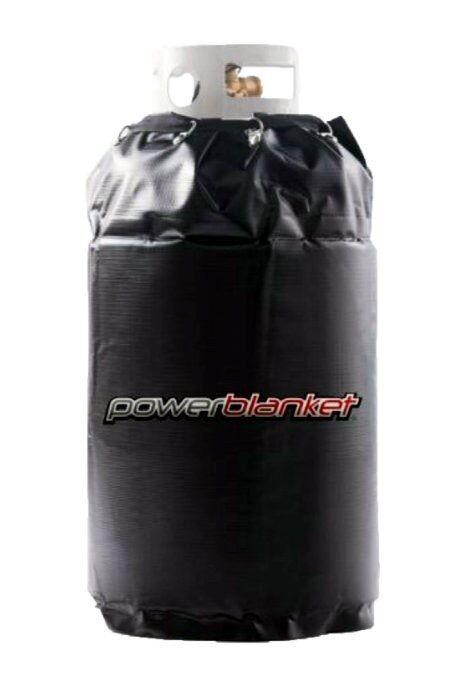 "Powerblanket 17 Gallon Spray Foam Cylinder Electric Heater Warmer 15""x27"" 90 Deg"