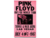 PINK FLOYD 17 April 1970 CONCERT METAL TIN SIGN POSTER WALL PLAQUE
